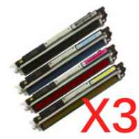 3 Lots of 4 pack Compatible Canon CART-329 Toner Cartridge Set