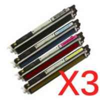 3 Lots of 4 pack Compatible Canon CART-329 Toner Cartridge Set
