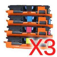 3 Lots of 4 pack Compatible Canon EP-87 Toner Cartridge Set