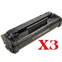 3 x Compatible Canon FX-3 Toner Cartridge