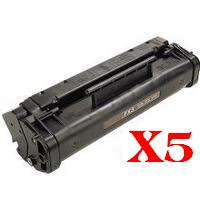 5 x Compatible Canon FX-3 Toner Cartridge