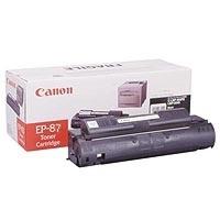 1 x Genuine Canon EP-87BK Black Toner Cartridge