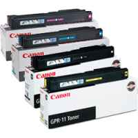 4 Pack Genuine Canon TG-22 GPR11 Toner Cartridge Set