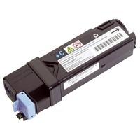 1 x Genuine Dell 1320cn 2130cn 2135cn Cyan Toner Cartridge Standard Yield