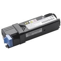1 x Genuine Dell 1320cn 2130cn 2135cn Yellow Toner Cartridge Standard Yield
