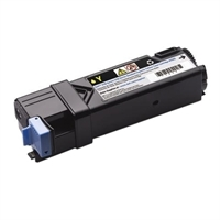 1 x Genuine Dell 2150cn 2150cdn 2155cn 2155cdn Yellow Toner Cartridge High Yield