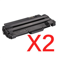 2 x Compatible Dell 1130 1130n 1133 1135n Toner Cartridge