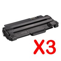 3 x Compatible Dell 1130 1130n 1133 1135n Toner Cartridge