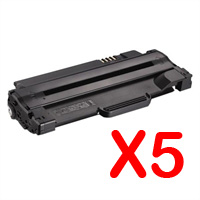 5 x Compatible Dell 1130 1130n 1133 1135n Toner Cartridge