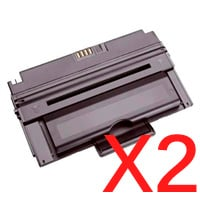 2 x Compatible Dell 2335 2335cn 2335dn Toner Cartridge