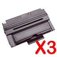 3 x Compatible Dell 2335 2335cn 2335dn Toner Cartridge