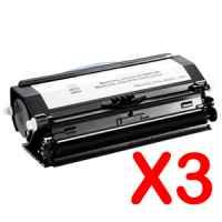 3 x Compatible Dell 3330dn Toner Cartridge