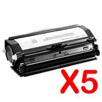 5 x Compatible Dell 3330dn Toner Cartridge