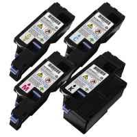 4 Pack Compatible Dell E525 E525w Toner Cartridge Set
