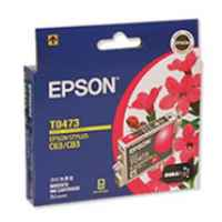1 x Genuine Epson T0473 Magenta Ink Cartridge