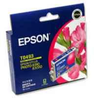 1 x Genuine Epson T0493 Magenta Ink Cartridge