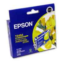 1 x Genuine Epson T0494 Yellow Ink Cartridge