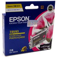 1 x Genuine Epson T0593 Magenta Ink Cartridge