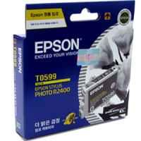 1 x Genuine Epson T0599 Light Light Black Ink Cartridge