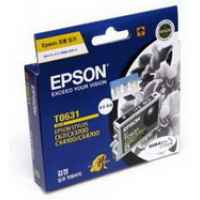 1 x Genuine Epson T0631 Black Ink Cartridge