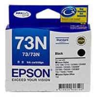 1 x Genuine Epson T0731 T1051 73N Black Ink Cartridge