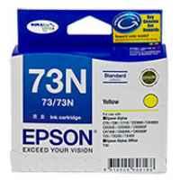 1 x Genuine Epson T0734 T1054 73N Yellow Ink Cartridge