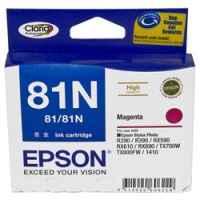 1 x Genuine Epson T0813 T1113 81N Magenta Ink Cartridge High Yield