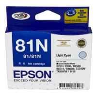 1 x Genuine Epson T0815 T1115 81N Light Cyan Ink Cartridge High Yield