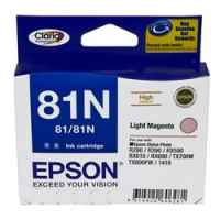 1 x Genuine Epson T0816 T1116 81N Light Magenta Ink Cartridge High Yield