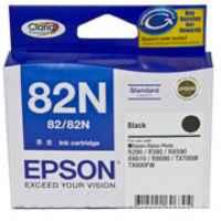 1 x Genuine Epson T1121 82N Black Ink Cartridge