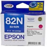 1 x Genuine Epson T1123 82N Magenta Ink Cartridge