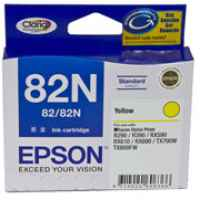 1 x Genuine Epson T1124 82N Yellow Ink Cartridge