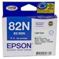 1 x Genuine Epson T1125 82N Light Cyan Ink Cartridge