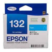 1 x Genuine Epson T1322 132 Cyan Ink Cartridge