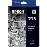 1 x Genuine Epson 215 Black Ink Cartridge
