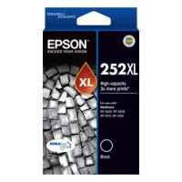 1 x Genuine Epson 252XL Black Ink Cartridge High Yield