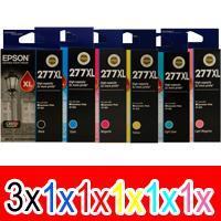 8 Pack Genuine Epson 277XL Ink Cartridge Set (3BK,1C,1M,1Y,1LC,1LM) High Yield