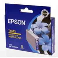 1 x Genuine Epson T5592 Cyan Ink Cartridge