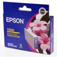 1 x Genuine Epson T5593 Magenta Ink Cartridge