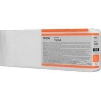 1 x Genuine Epson PRO7700 PRO7900 700ml Orange Ink Cartridge