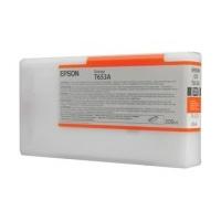 1 x Genuine Epson PRO4900 200ml Orange Ink Cartridge