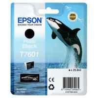 1 x Genuine Epson T7601 760 Photo Black Ink Cartridge