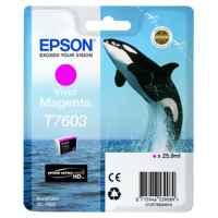 1 x Genuine Epson T7603 760 Vivid Magenta Ink Cartridge
