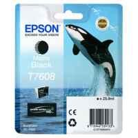 1 x Genuine Epson T7608 760 Matte Black Ink Cartridge