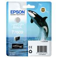 1 x Genuine Epson T7609 760 Light Light Black Ink Cartridge