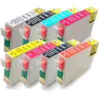 8 Pack Compatible Epson T0870 T0871 T0872 T0873 T0874 T0877 T0878 T0879 Ink Cartridge Set