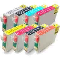 8 Pack Compatible Epson T0870 T0871 T0872 T0873 T0874 T0877 T0878 T0879 Ink Cartridge Set