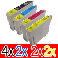 10 Pack Compatible Epson 103 T1031 T1032 T1033 T1034 Ink Cartridge Set (4B,2C,2M,2Y) Extra High Yield