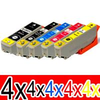 20 Pack Compatible Epson 273XL Ink Cartridge Set (4BK,4PBK,4C,4M,4Y) High Yield