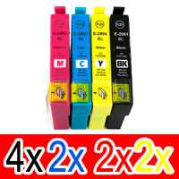 10 Pack Compatible Epson 29XL Ink Cartridge Set (4BK,2C,2M,2Y) High Yield